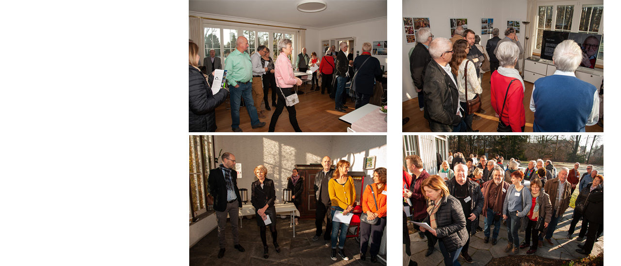 Vernissage Photoclub-Hinterthurgau Villa Sutter