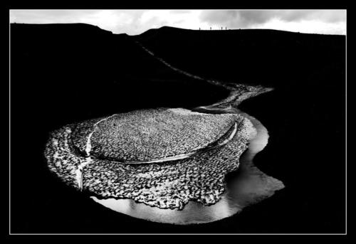 Totschnee-Lagune