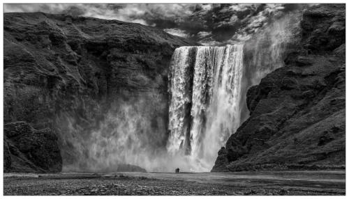 2 Präm SWI 8170 25 pt Island Wasserfall Kessler Heinrich