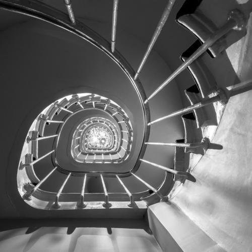 Prämiert SWB 1276 23Pt Treppenhaus - Werren Karin