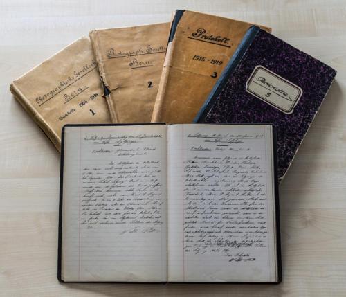 Die handschriftlichen Dokumente von 1904 bis 1924.