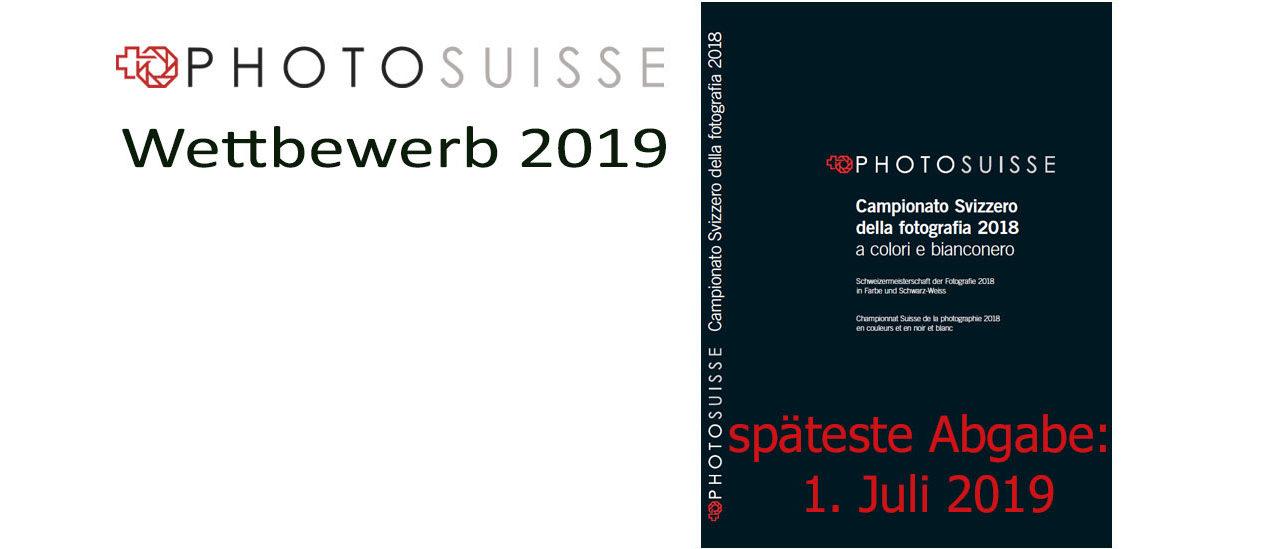 Wettbewerb PHOTOSUISSE 2019