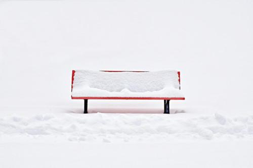 Bestes Silleben Tabletop 4814 FB 25Pt Blanc sur rouge rien ne bouge Tièche Patrick