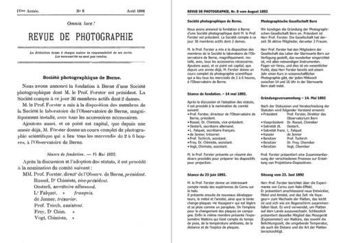 Das Gründungsprotokoll mit Übersetzung und Abschrift